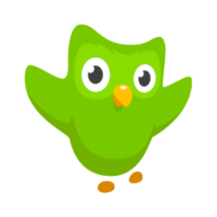 Haz clic para ingresar a Duolingo